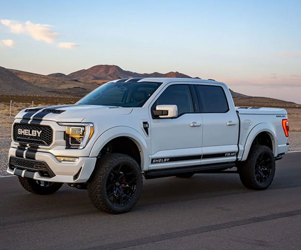 2021 Shelby F-150 Pickup Offers 775 Supercharged Ponies