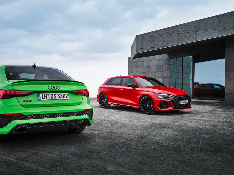 2022 Audi RS 3 Sportback and Sedan Look Fantastic