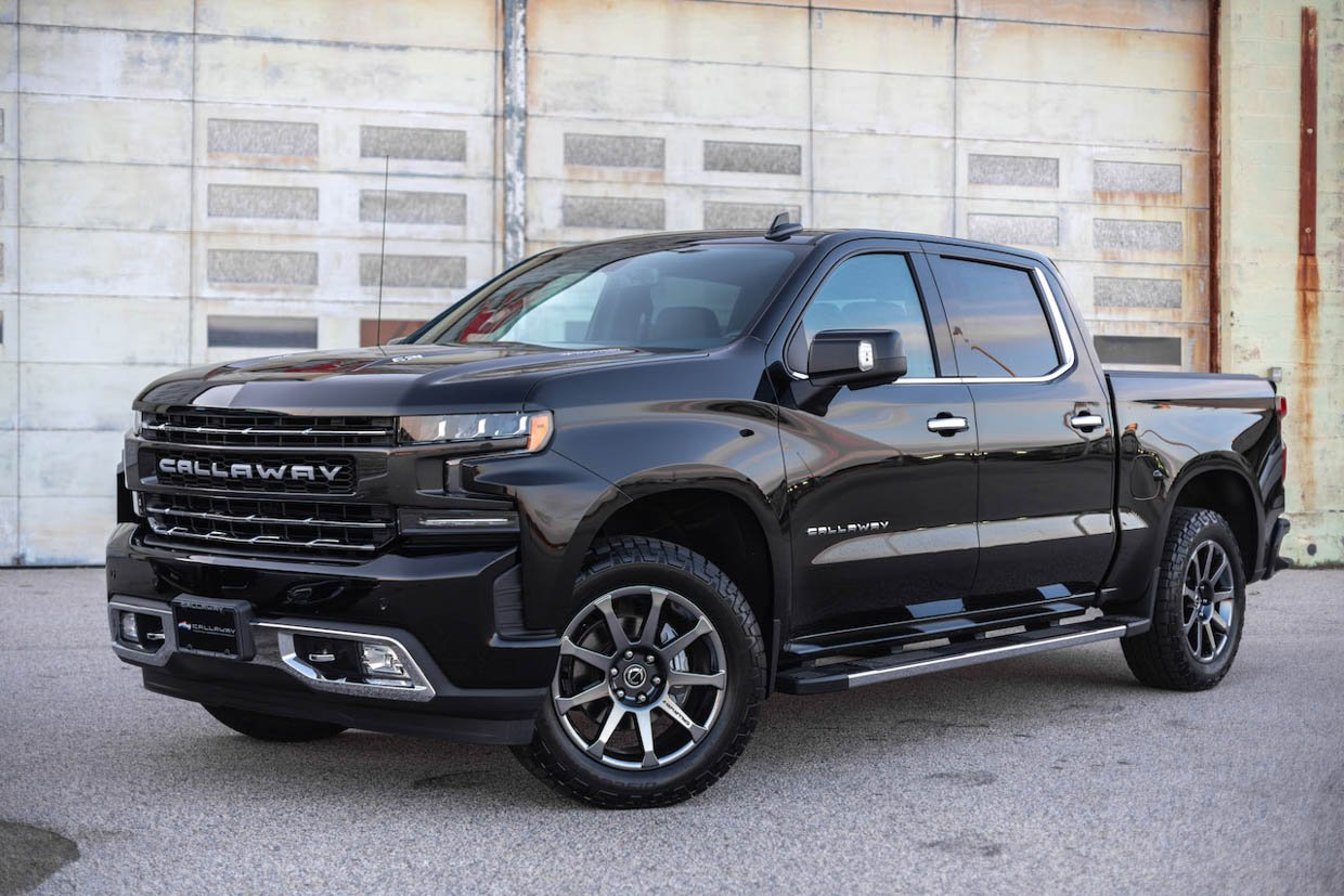 Callaway Chevy Silverado SC602 Gains a Supercharger and Keeps its Warranty