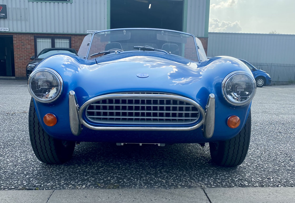 AC Cobra Series 1 Electric Combines Classic Style with Electric Power