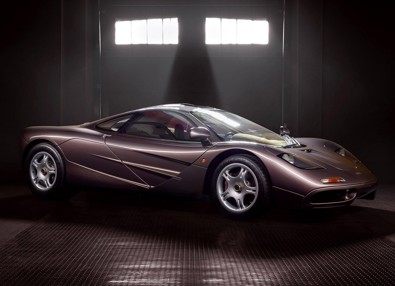 Perfect 1995 McLaren F1 Fetches $18.6 Million at Auction