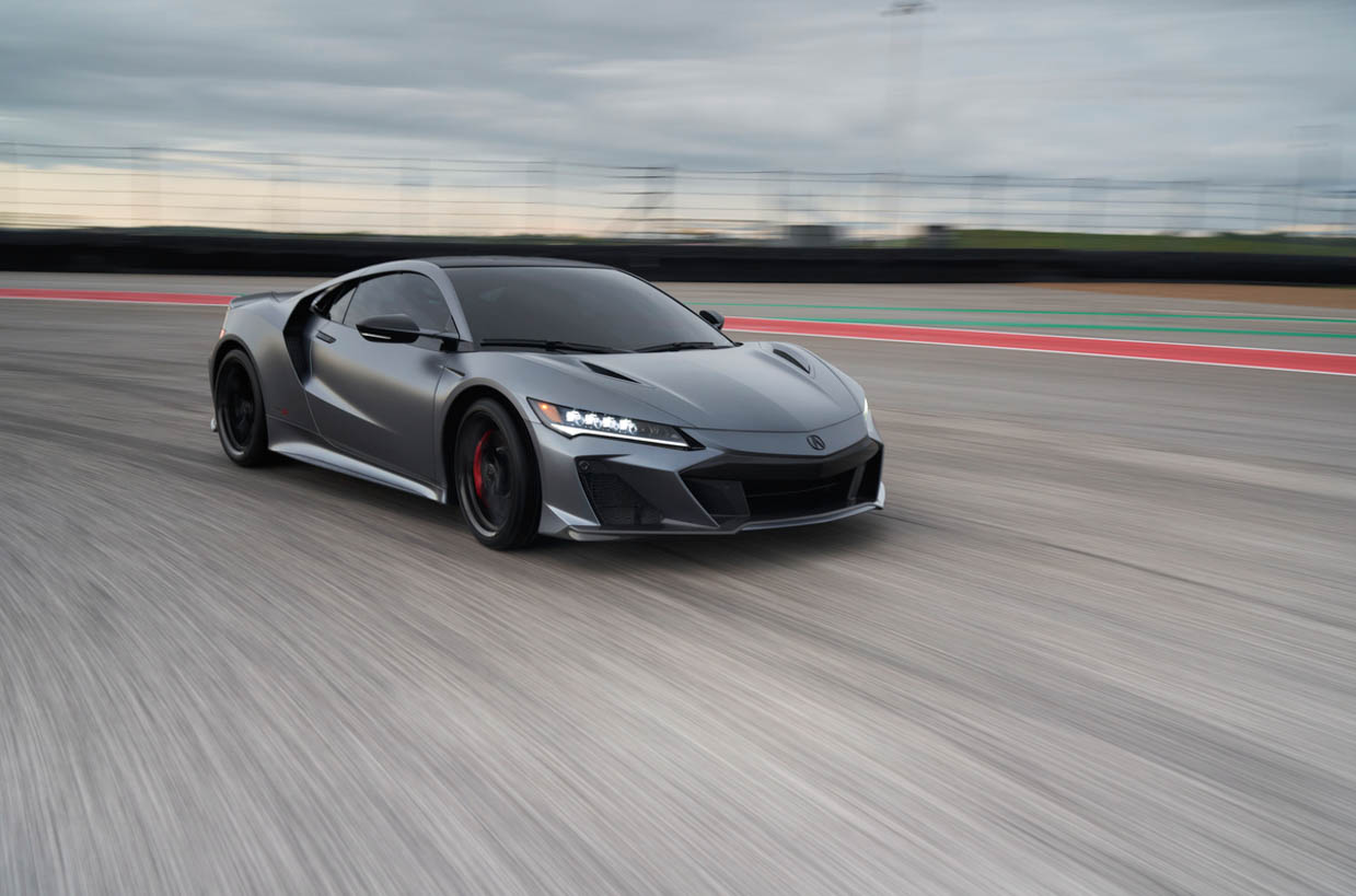 2022 Acura NSX Type S is the End of the Line