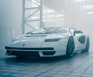 2022 Lamborghini Countach LPI 800-4 Is a Limited Edition Tribute