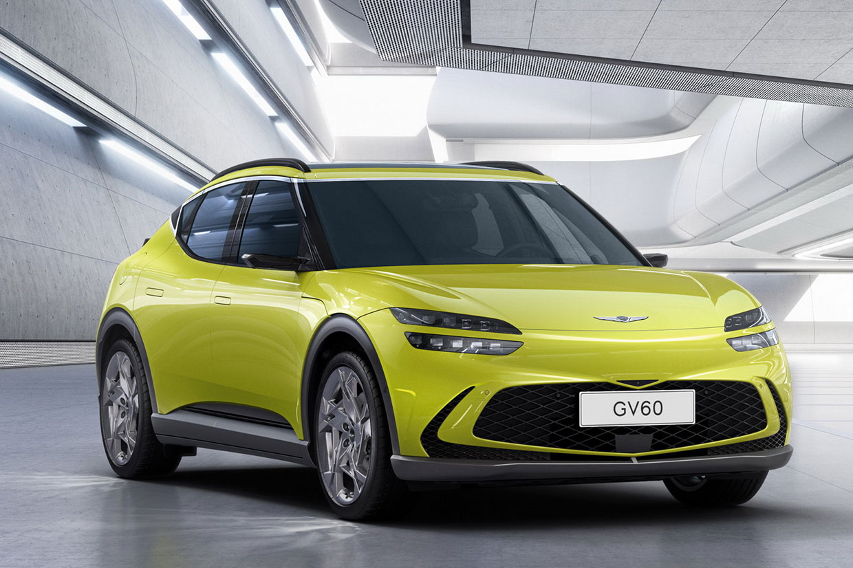 Genesis GV60 Electric Crossover to Offer a Wireless Charging Option