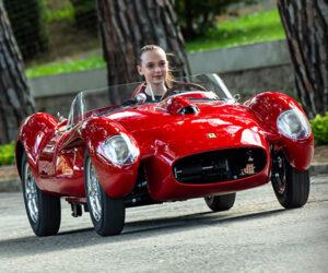The Ferrari Testa Rossa J Is a Mini Electric Ferrari