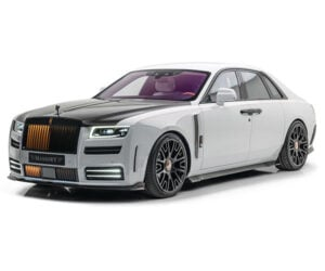 Mansory New Ghost is a Tricked-out Rolls-Royce
