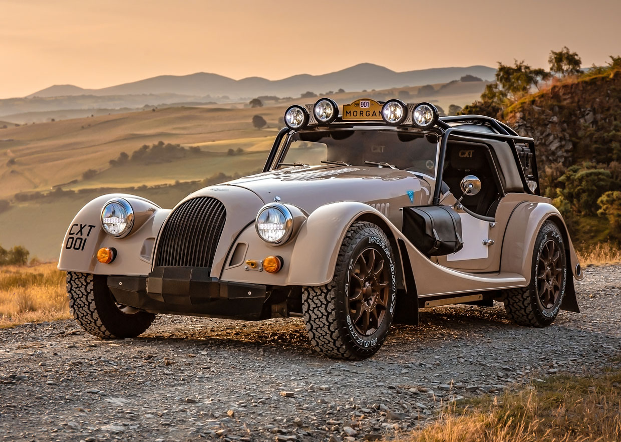 Morgan Plus Four CX-T is Designed to Tackle the Trails