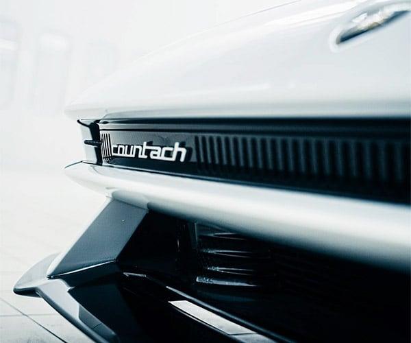 Lamborghini Reveals More Countach Teaser Images