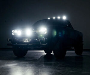 Alpha Wolf Electric Pickup Goes on Display in LA