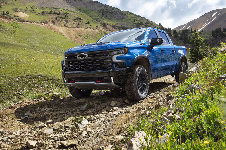 2022 Chevrolet Silverado ZR2 Is Ready for Off-Roading