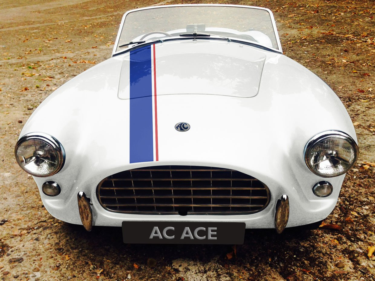 AC Ace RS Electric Has Classic Looks and Modern Powertrain