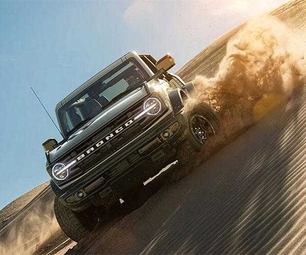 2022 Ford Bronco Raptor Surfaces in Order Database