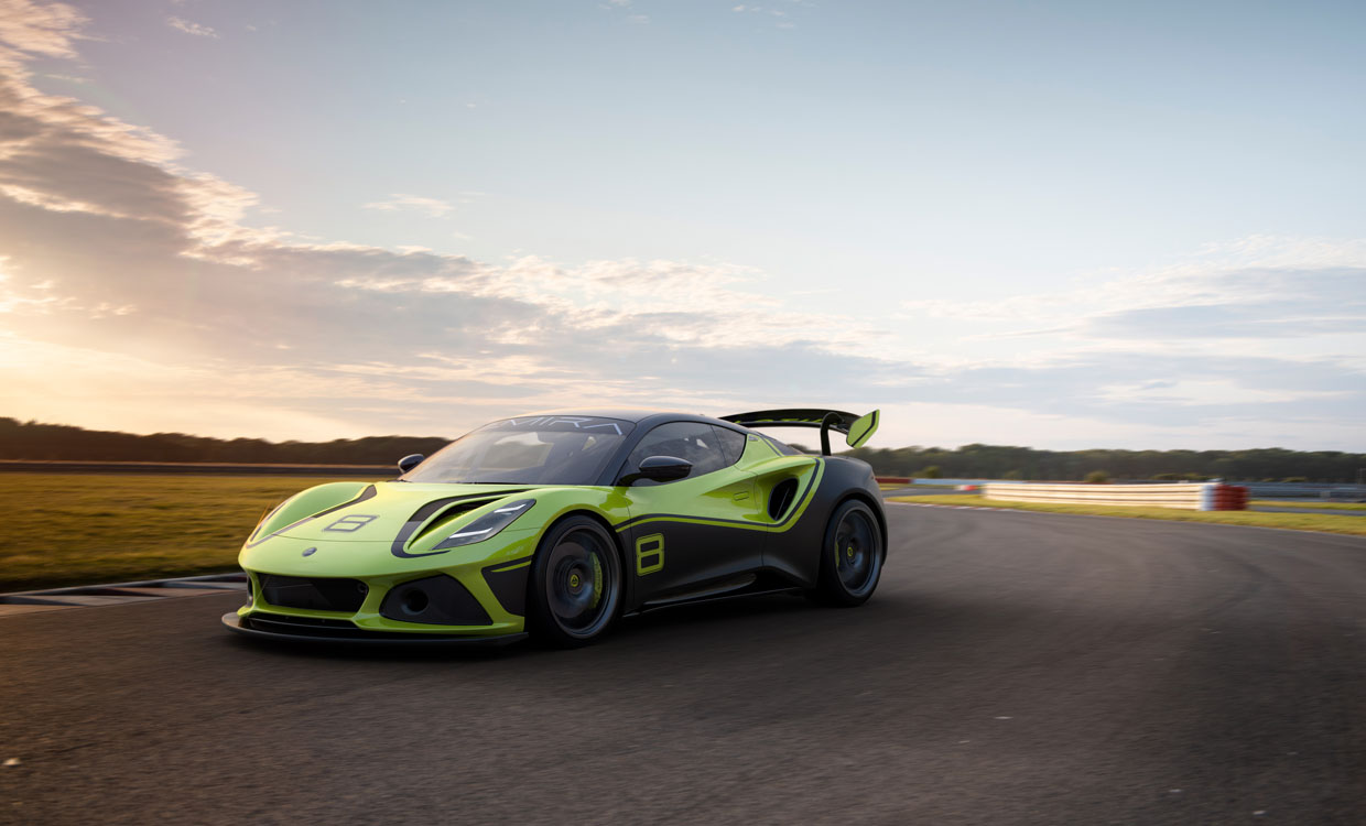 Lotus Emira GT4 is Built for the Race Track