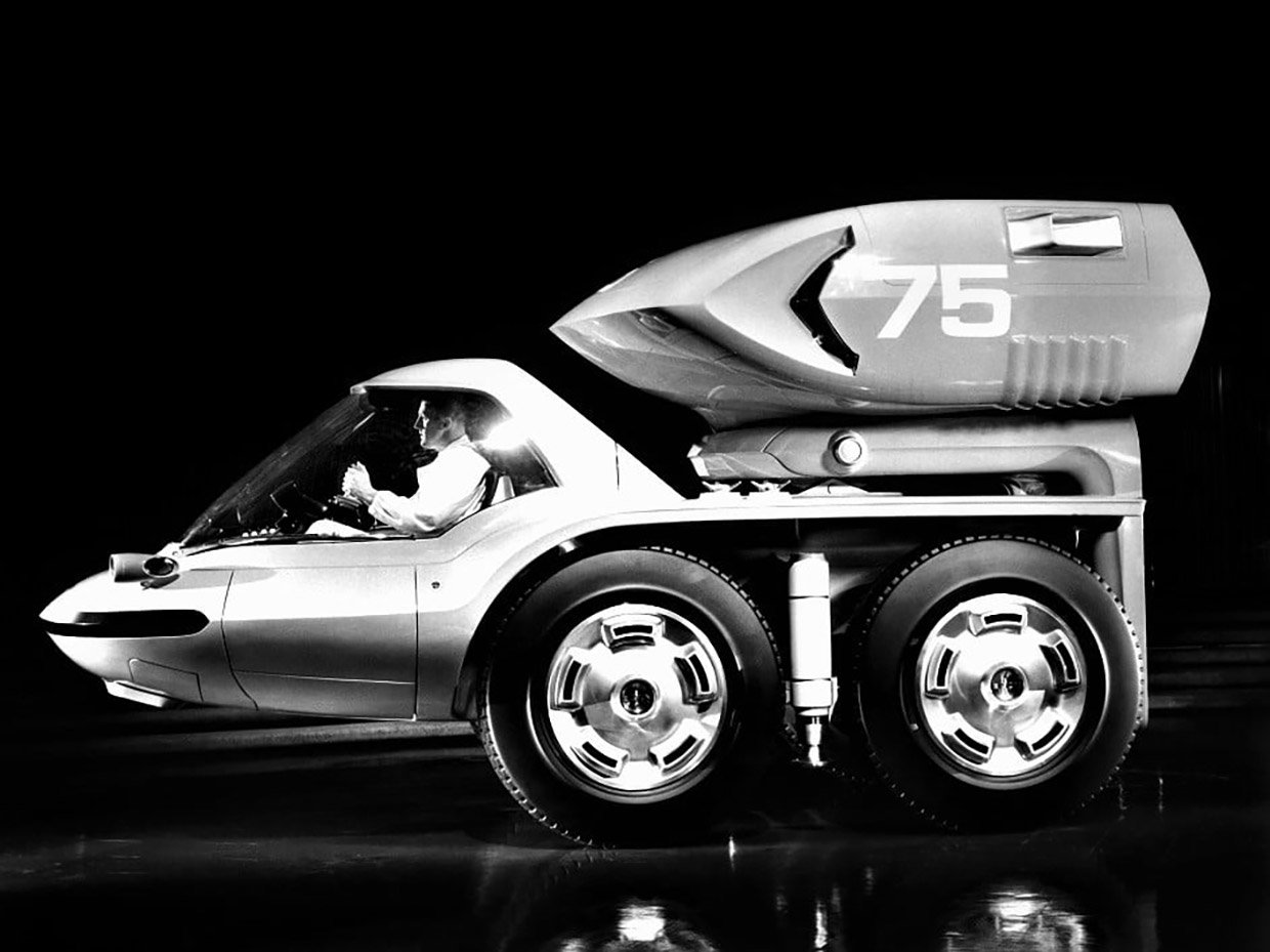 Concepts from Future Past: 1964 General Motors Bison