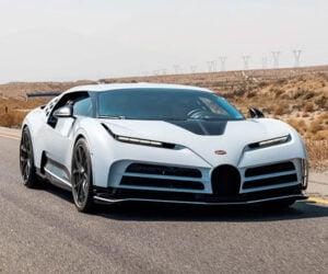 Bugatti Centodieci Survives Hot Weather Testing in the Arizona Desert