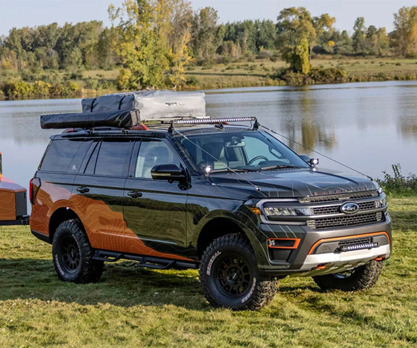 Ford Expedition Timberline Off-Grid Concept is Ready for the Wild