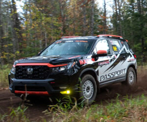 This Honda Passport Rally Racer Is Mostly Stock