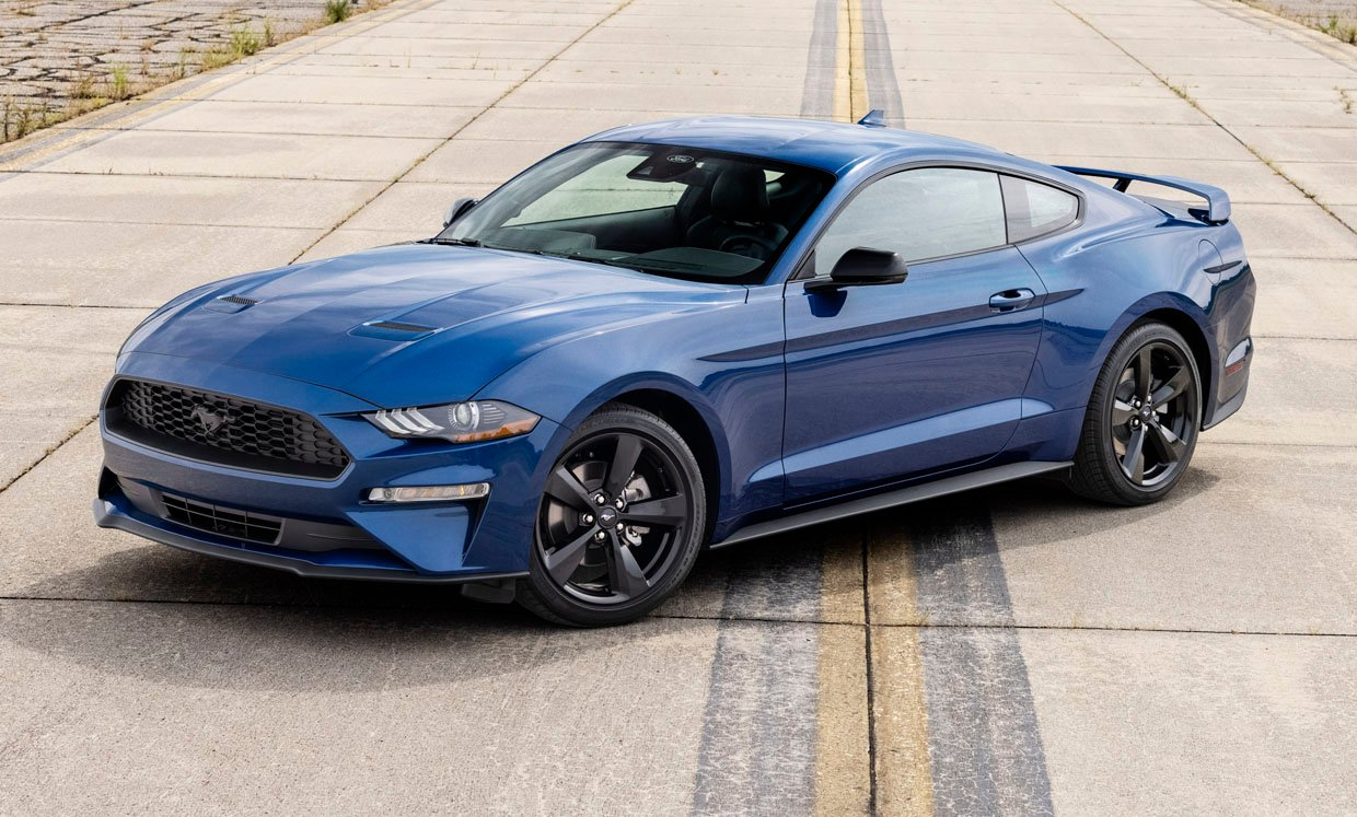2022 Ford Mustang Stealth Edition Brings Blacked-out Details