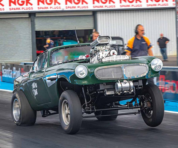 This Volvo P1800 Drag Racer Could Become the Next Hot Wheels Car
